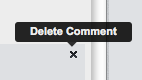 Delete a Comment from HootSuite